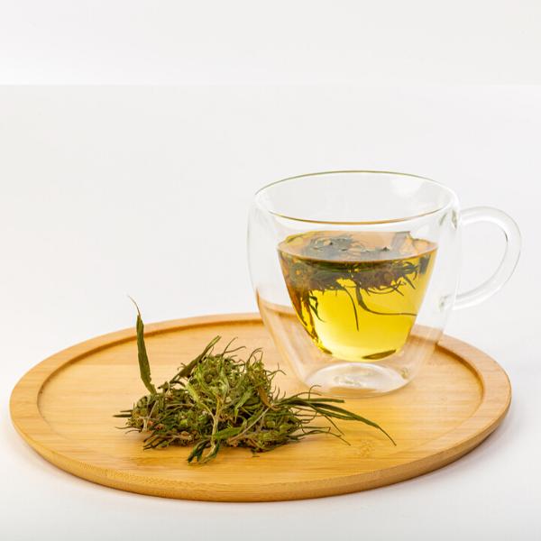 Wzmacniająca herbatka z kwiatów konopi 20g 3