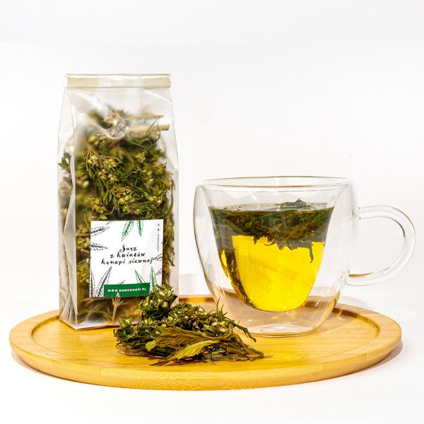 Wzmacniająca herbatka z kwiatów konopi 20g 2