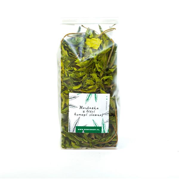Wzmacniająca herbatka z młodych liści konopi 20g 1