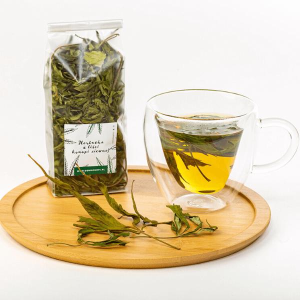 Wzmacniająca herbatka z młodych liści konopi 20g 2