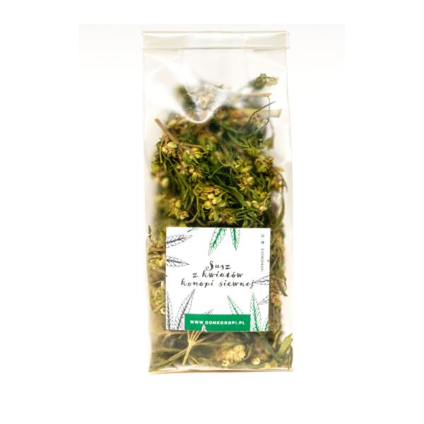 Wzmacniająca herbatka z kwiatów konopi 20g 1